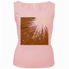 Big Bang Women s Pink Tank Top by ValentinaDesign