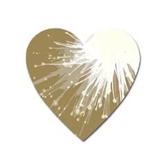 Big Bang Heart Magnet by ValentinaDesign