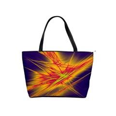 Big Bang Shoulder Handbags by ValentinaDesign