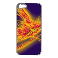 Big Bang Apple Iphone 5 Case (silver) by ValentinaDesign