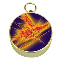 Big Bang Gold Compasses by ValentinaDesign