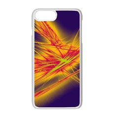Big Bang Apple Iphone 7 Plus White Seamless Case by ValentinaDesign