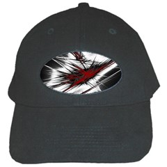 Big Bang Black Cap by ValentinaDesign
