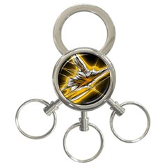 Big Bang 3 Ring Key Chains by ValentinaDesign