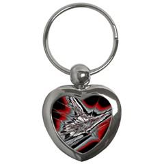Big Bang Key Chains (heart)  by ValentinaDesign
