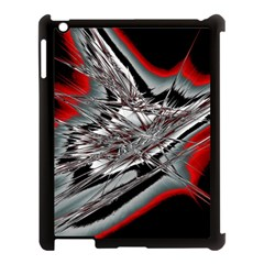 Big Bang Apple Ipad 3/4 Case (black) by ValentinaDesign
