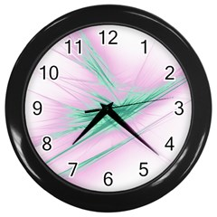 Big Bang Wall Clocks (black) by ValentinaDesign