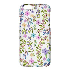 Twigs And Floral Pattern Apple Iphone 6 Plus/6s Plus Hardshell Case by Coelfen