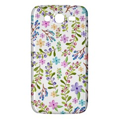 Twigs And Floral Pattern Samsung Galaxy Mega 5 8 I9152 Hardshell Case  by Coelfen