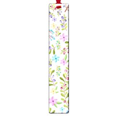 Twigs And Floral Pattern Large Book Marks by Coelfen