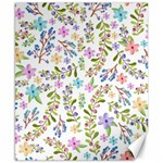 Twigs and floral pattern Canvas 8  x 10  10.02 x8 Canvas - 1