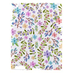 Twigs And Floral Pattern Apple Ipad 3/4 Hardshell Case by Coelfen