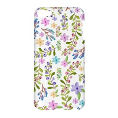 Twigs And Floral Pattern Apple Ipod Touch 5 Hardshell Case by Coelfen