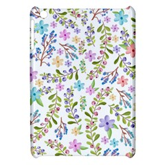 Twigs And Floral Pattern Apple Ipad Mini Hardshell Case