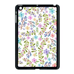 Twigs And Floral Pattern Apple Ipad Mini Case (black) by Coelfen
