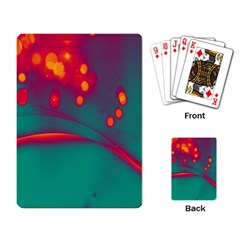 Lights Playing Card by ValentinaDesign