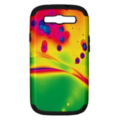 Lights Samsung Galaxy S Iii Hardshell Case (pc+silicone) by ValentinaDesign