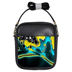 Lights Girls Sling Bags by ValentinaDesign