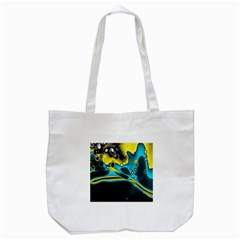 Lights Tote Bag (white) by ValentinaDesign