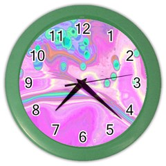 Lights Color Wall Clocks by ValentinaDesign