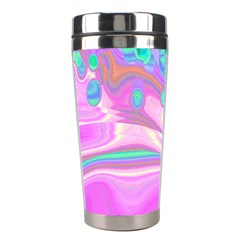 Lights Stainless Steel Travel Tumblers by ValentinaDesign