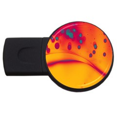 Lights Usb Flash Drive Round (4 Gb)