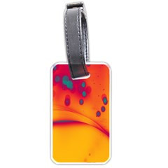 Lights Luggage Tags (one Side)  by ValentinaDesign