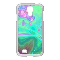 Lights Samsung Galaxy S4 I9500/ I9505 Case (white) by ValentinaDesign