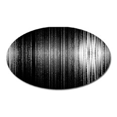 Lights Oval Magnet by ValentinaDesign