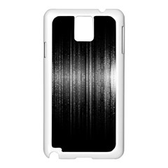 Lights Samsung Galaxy Note 3 N9005 Case (white) by ValentinaDesign