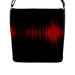 Lights Flap Messenger Bag (l)  by ValentinaDesign