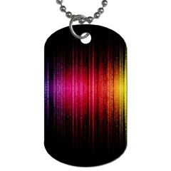 Lights Dog Tag (two Sides) by ValentinaDesign