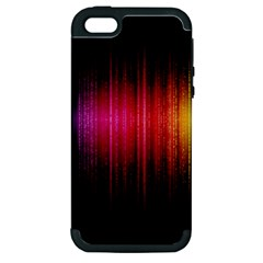 Lights Apple Iphone 5 Hardshell Case (pc+silicone) by ValentinaDesign