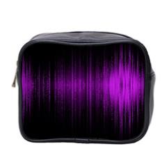 Light Mini Toiletries Bag 2 Side by ValentinaDesign