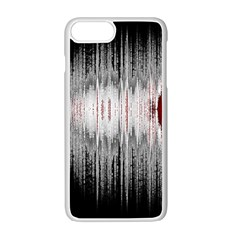 Light Apple Iphone 7 Plus White Seamless Case by ValentinaDesign