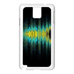 Light Samsung Galaxy Note 3 N9005 Case (white) by ValentinaDesign