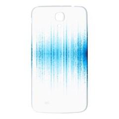 Light Samsung Galaxy Mega I9200 Hardshell Back Case by ValentinaDesign