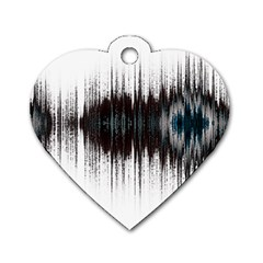 Light Dog Tag Heart (two Sides) by ValentinaDesign