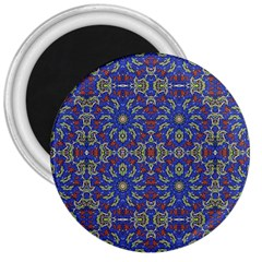 Colorful Ethnic Design 3  Magnets by dflcprints