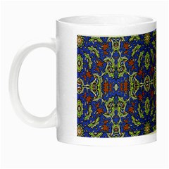Colorful Ethnic Design Night Luminous Mugs by dflcprints