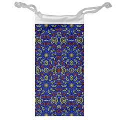 Colorful Ethnic Design Jewelry Bag by dflcprints