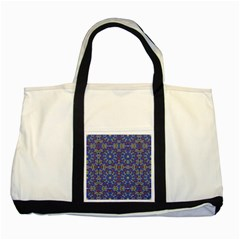 Colorful Ethnic Design Two Tone Tote Bag by dflcprints