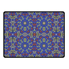 Colorful Ethnic Design Fleece Blanket (small) by dflcprints
