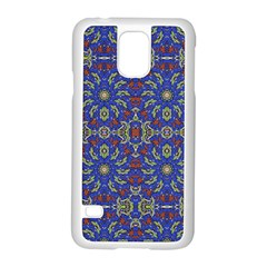 Colorful Ethnic Design Samsung Galaxy S5 Case (white) by dflcprints