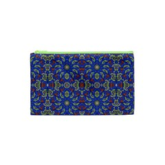 Colorful Ethnic Design Cosmetic Bag (xs) by dflcprints