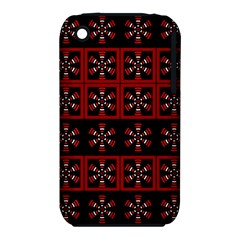 Dark Tiled Pattern Iphone 3s/3gs by linceazul