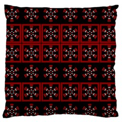 Dark Tiled Pattern Standard Flano Cushion Case (two Sides) by linceazul