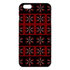 Dark Tiled Pattern Iphone 6 Plus/6s Plus Tpu Case by linceazul