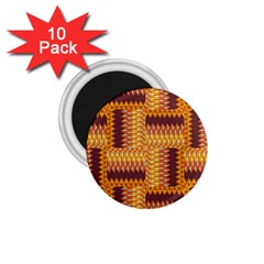 Geometric Pattern 1 75  Magnets (10 Pack)  by linceazul