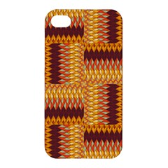 Geometric Pattern Apple Iphone 4/4s Hardshell Case by linceazul